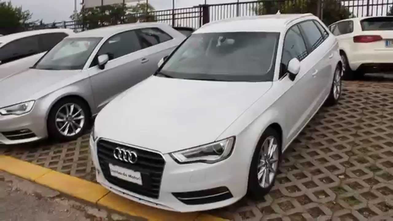 audi a3 sportback 2 0 tdi ambition 150 cv youtube. Black Bedroom Furniture Sets. Home Design Ideas