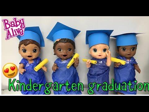 BABY ALIVE Kindergarten Graduation baby alive videos