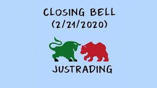 Closing Bell: Day Trading (2/21/2020), U.S stock market