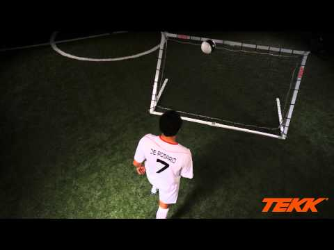 Tekk Trainer Soccer Training  Chest Control Drills