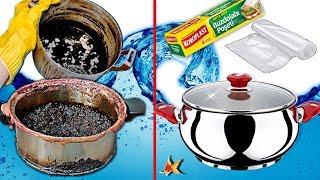 İnanılmaz! Bu Poşet Çelik Tencere ve Çaydanlıkları Pırıl Pırıl Yapacak-Hayat  Kurtaran Bilgiler