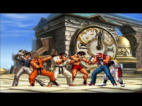 Team Ryo Art Of Fighting Vs Team Terry Fatal Fury Requested Match Youtube