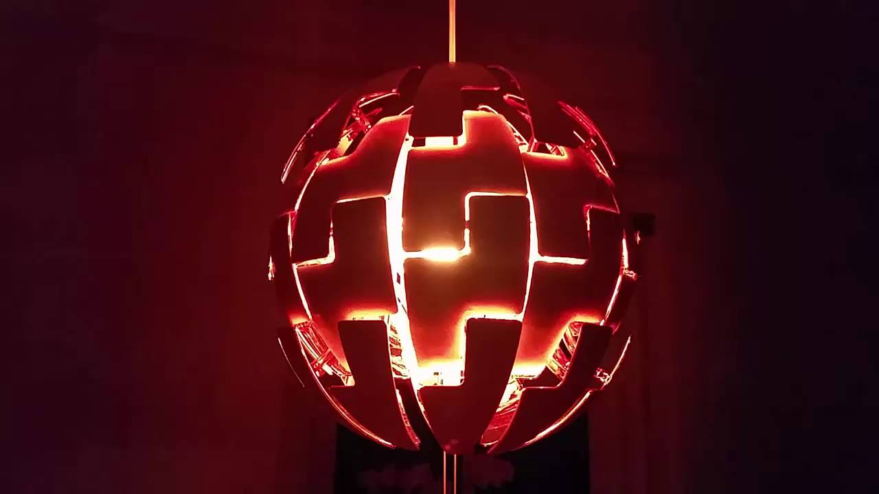 death star lamp with jedi lighting star wars ps 2014 ikea youtube. Black Bedroom Furniture Sets. Home Design Ideas