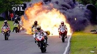 อุบัติเหตุ ความเร็ว ความผิดพลาด มอไซค์ Isle of Man เพลงมันๆ Motorbike Music Remix
