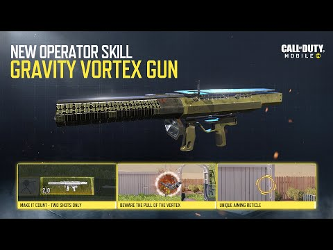 Call of Duty®: Mobile - New Operator Skill | Gravity Vortex Gun