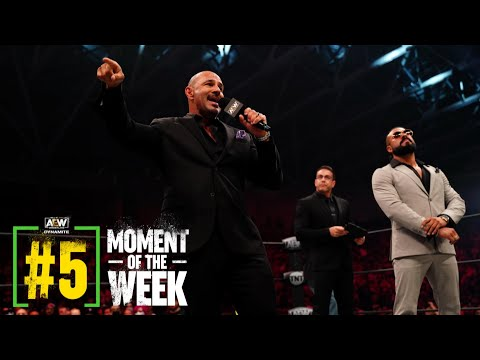 What Did Andrade's New Executive Consultant Have to Say?   AEW Dynamite Fyter Fest 2, 7/21/21