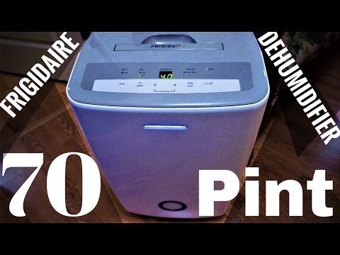 Frigidaire 70 Pint Dehumidifier | Appliance Reviews | Use + Overview + Model FFAD7033R1
