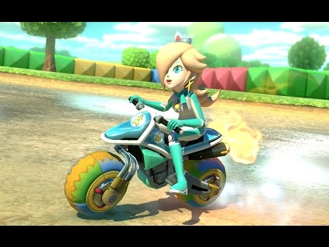 Mario Kart 8 Deluxe 200cc Banana Cup Rosalina Gameplay