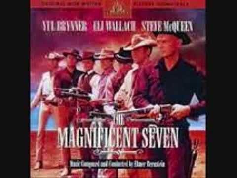 great western movie themes the magnificent seven youtube. Black Bedroom Furniture Sets. Home Design Ideas