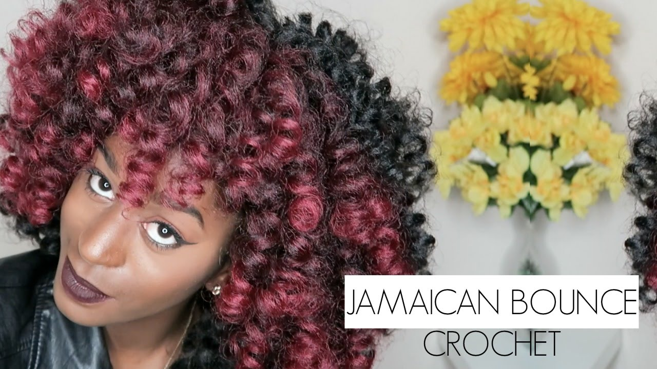 Crochet Hair Jamaican Bounce : Jamaican Bounce Crochet - YouTube