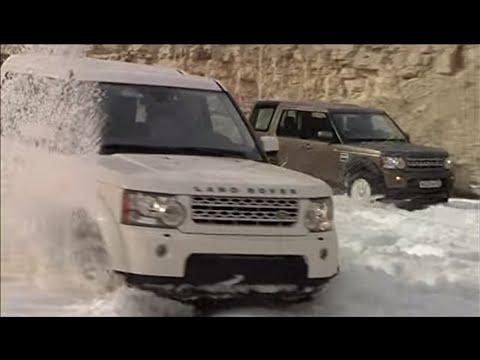 тест Land Rover Discovery 4   www.skorost-tv.ru
