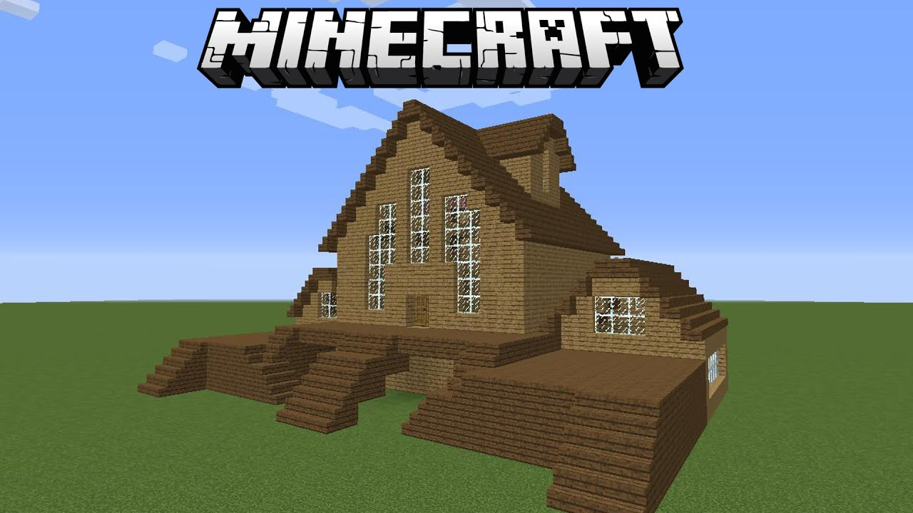 Cool Easy Build House In Minecraft