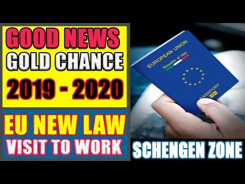 Conversion Of Visitor Visa Into Work Visa A New Policy Of A Schengen Country.