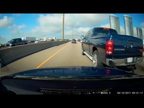 Dodge ram cuts me off - near impact. Near Kennedy and 401