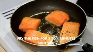 Spicy Salmon: Indian Style
