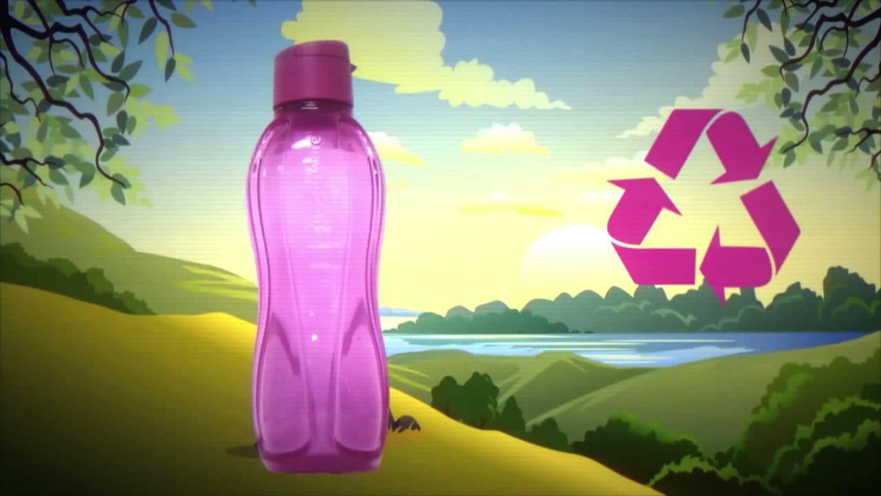 Botella Eco De 1 Litro Cuidando El Planeta Youtube