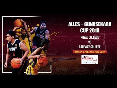 Alles – Gunasekara Cup 2018 | Royal College v Gateway College
