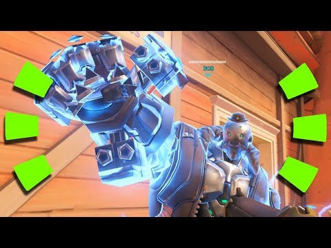 Overwatch - How B.O.B. Interacts with every ULTIMATE in the Game
