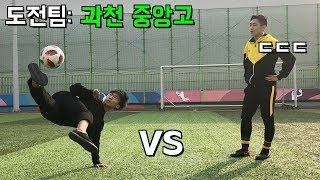 Can You Beat Us? 2 vs 2 Soccer Match! Part 1