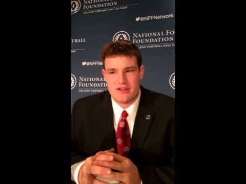 2013 NFF National Scholar Athlete Award Press Conference - Cornell