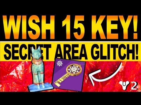 Repeat Destiny 2 | 15th WISH KEY & GLITCH INTO SECRET QUEST AREA