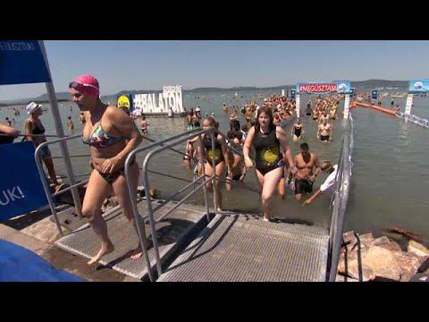 Rasovszky logra un nuevo récord de natación en Hungría