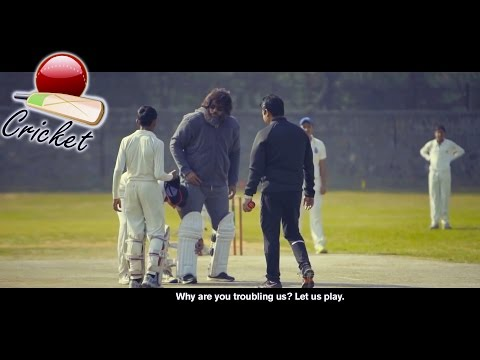 Unexpected Visitor on the Cricket Ground (1080p) Disguised Yusuf Pathan