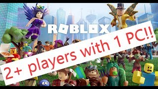 Roblox 2+ players from a single PC!! Aster MultiSeat Software