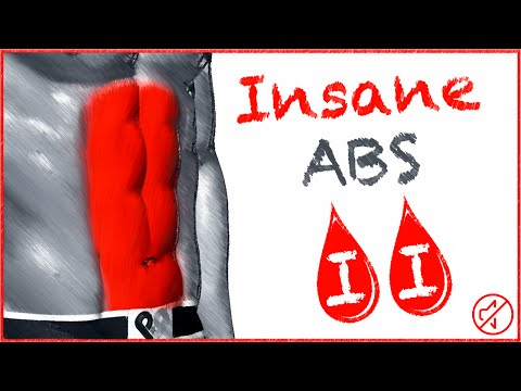 Insane Abs Workout - Round 2 - No Music