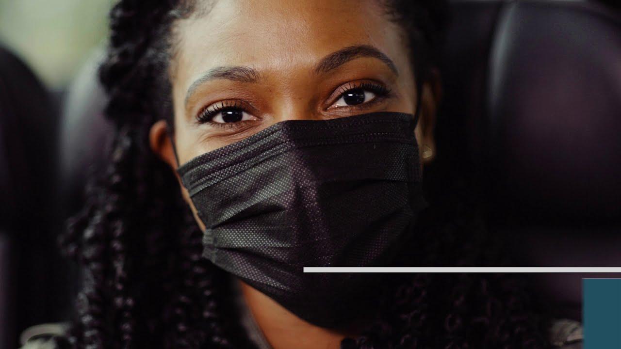 Face Mask Wearing 101: Greyhound Bus
