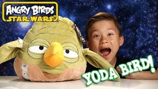 YODA BIRD PLUSH - Angry Birds STAR WARS - More SPECIAL EFFECTS: Use the FORCE!