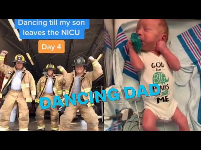 Dad goes viral for dancing until his son comes home from NICU