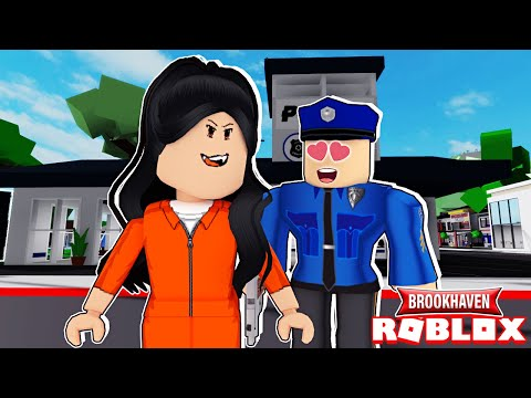 LE POLICIER AIME LA PRISONNIÈRE DE BROOKHAVEN | ROBLOX BROOKHAVEN RP | MISLICIOUS EP 1