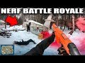NERF FIRST PERSON SHOOTER BATTLE ROYALE!! 🔥💥 Worlds Biggest Nerf War