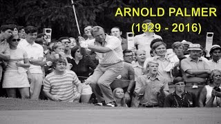 Arnold Palmer, the Magnetic Face of Golf in the '60s, Dies at 87 | R.I.P Arnold Palmer