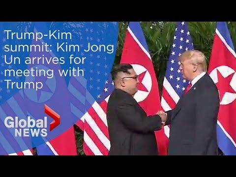 Trump-Kim summit: Donald Trump, Kim Jong Un meet for first time