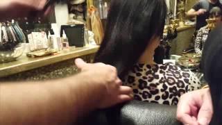 Видео урок : по наращиванию волос