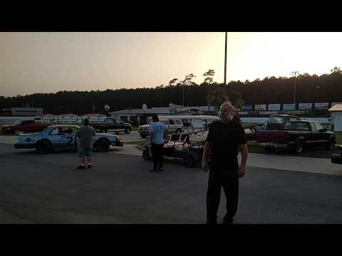 First laps at Carteret county speedway