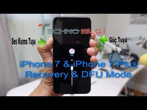 iphone 7 ve 7 Plus Hard Reset DFU Mod ve Recovery Moda Alma