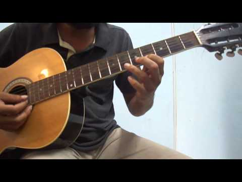 Carnatic on guitar - Slides, hammer on, pull offs (Introduction)