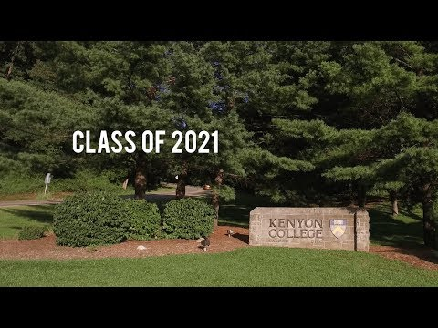 Kenyon College: Move-In 2017