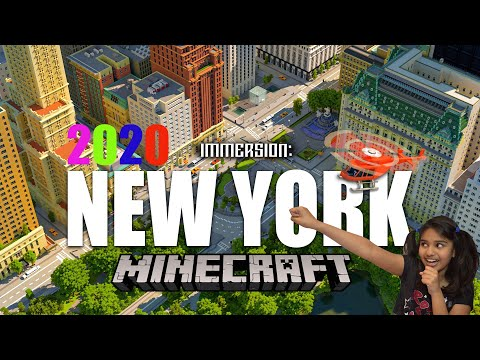 Minecraft Immersion: New York City Map   New 2020 Marketplace City Map