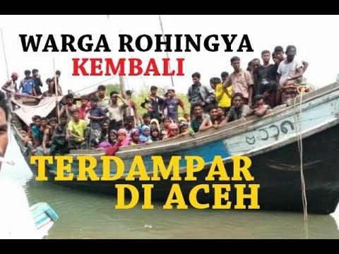 Pengungsi Rohingya Kembali Terdampar ke Aceh