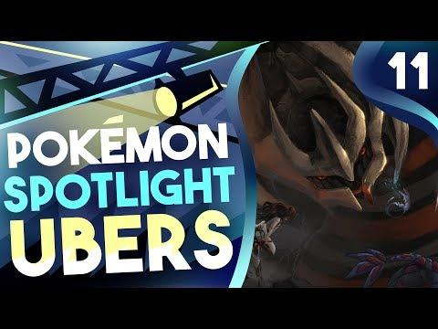 """POKEMON SPOTLIGHT: GIRATINA"" #11 Pokemon Ultra Sun & Moon! Ubers Showdown Live w/PokeaimMD"