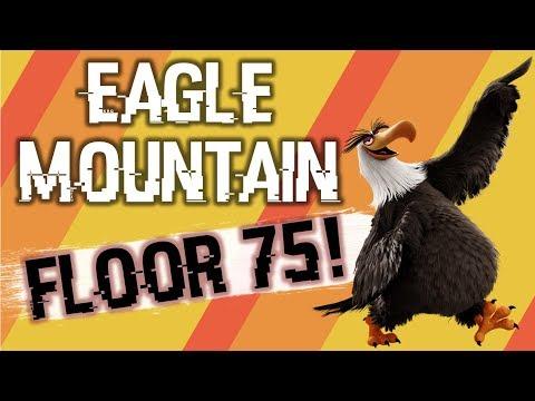 5 Star Bird Eagle Mountain!!!! Floor 75!?!?!?   Angry Birds Evolution
