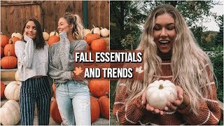 EVERYTHING YOU NEED FOR FALL // Fashion Trends + Essentials!
