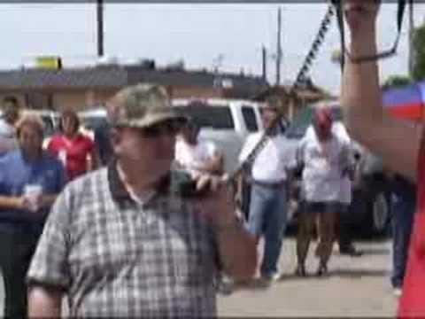IAM news - Machinists I.P. Visits Strike Line