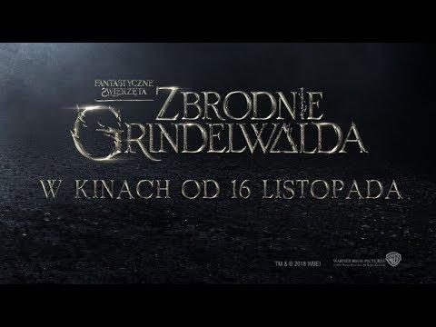 FANTASTYCZNE ZWIERZĘTA: ZBRODNIE GRINDELWADA I #1 Zwiastun I W kinach od 16 listopada