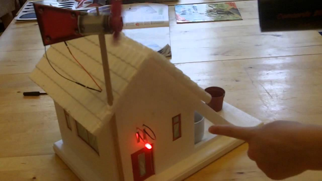 Wind power experiment youtube for Solar energy projects for kids