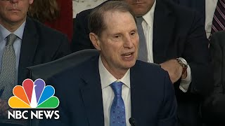 Senator Ron Wyden On Neutral Social Media Filtering: Those Days 'Are Over' | NBC News